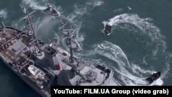 Скріншот із трейлеру фільму «Черкаси»