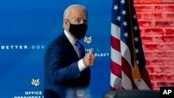 جو بایدن رییس جمهور منتخب امریکا