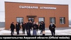 """Открытие """"Сыроварни Агриппины"""""""