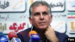 کارلوی کیروش، سرمربی تیم ملی فوتبال ایران.