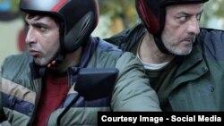 جلال فاطمی و حمید گودرزی در نمایی از فیلم «روباه»