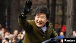 Претседателската на Северна Кореја Парк Гун-хе