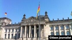 Здание Бундестага в Берлине.