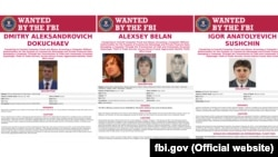 These three FBI suspects wanted for hacking-related crimes all appear to have worked with the Russian security services.