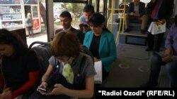 Wi-Fi в автобусных маршрутах в Душанбе.