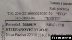 Ulica tkz. Ratka Mladića na računima meštana