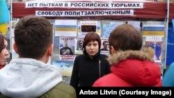 Анастасия Зотова в Праге, 6 ноября 2016