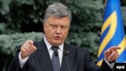 Presidenti ukrainas Petro Poroshenko