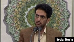 Mohammad Ali Kamfirouzi, a loyal person to Khamenei has been convicted for two sentences he uttered. FILE PHOTO