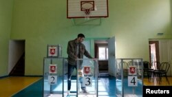 Падрыхтоўка да рэфэрэндуму ў сымфэромальскай школе