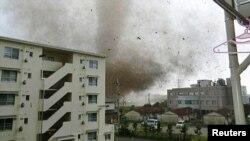 Tuskuba - qyteti i goditur nga stuhia - 6 maj 2012.