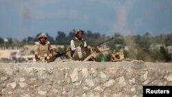 جنود مصريون في شمال سيناء