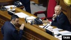 Kiev - Kryetari i Parliamentit të Ukrainës Volodymyr Rybak (Ilustrim)
