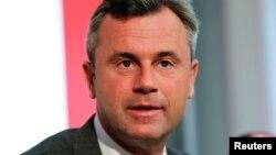 Кандидат на пост президента Австрии от крайне правой Партии свободы Норберт Хофер.