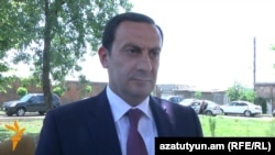 Armenia - Hovhannes Hovsepian, head of the State Revenue Committee.