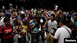 Migranti na putu za SAD