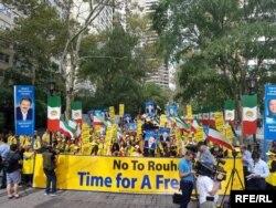 تظاهرکنندگان در منهتن