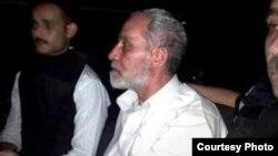 المرشد العام لجماعة الإخوان المسلمين محمد بديع بعد إلقاء القبض عليه