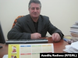 """""""Ulduz"""" jurnalının baş redaktoru Elçin Hüseynbəyli"""