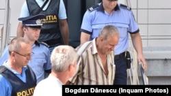 Georghe Dincă, cel care le-a omorât pe cele două fete, Alexandra și Luiza, crime pe care le-a recunoscut.