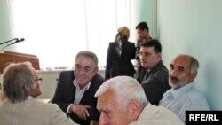 Представители общественных организаций в зале суда по делу о строительстве моста в Жилгородке.