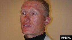 Казахстанский велогонщик Александр Винокуров.