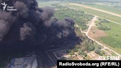 Пожежа на нафтобазі «БРСМ» під Києвом у червні 2015 року