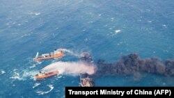 تصویری از نفتکش سانچی