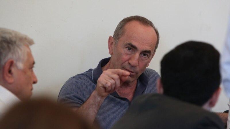 European Body 'Ready' To Advise Armenian Court On Kocharian Case
