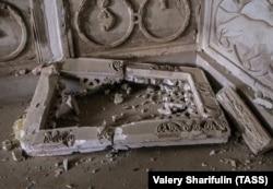 Национальный музей Пальмиры после разграбления