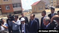Карим Масимов во время визита в Актобе. 15 июня 2016 года.