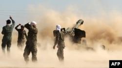Šiitski dobrovoljci kod Tikrita