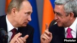 Vladimir Putin və Serzh Sarkisian - 2013
