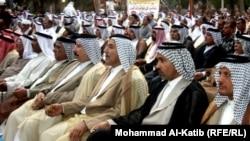 شيوخ عشائر عراقية في مؤتمر بالموصل
