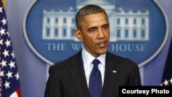 Кошмо Штаттардын президенти Барак Обама.