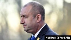 Bulgarian President Rumen Radev (file photo)