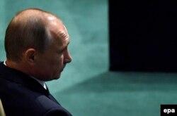 Путин ожидает выступления в ООН