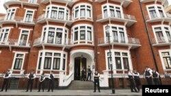 سفارت اکوادور در غرب لندن