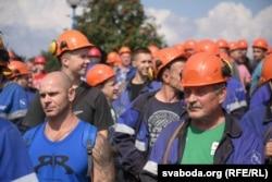 Страйк робітників хімзаводу «Гродно азот»