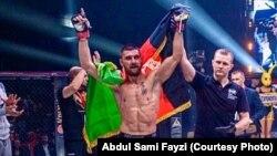 عبدالسمیع فیضی ورزشکار رقابتهای هنرهای رزمی ترکیبی یا (امامای) افغانستان
