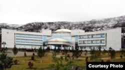 Больница, построенная по программе модернизации здравоохранения.
