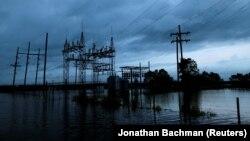 Inundații în statul Louisiana, în urma furtunii tropicale Harvey din august 2017