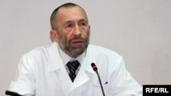 Владимир Боборыкин, кардиолог-дәрігер. Алматы 23 ақпан 2010 жыл.
