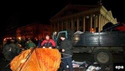 Минск, ночь с 23 на 24 марта 2006 года