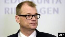 Kryeministri i Finlandës, Juha Sipila.