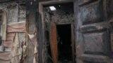 Масштабы пожара видно ещё задолго до самого Смоляниново. Жители села сейчас находятся без воды, газа, электроэнергии.