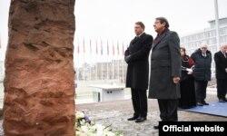 La ceremonia de comemorare a victimelor Holocaustului