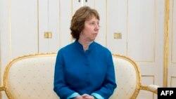 Глава внешнеполитического ведомства Евросоюза Кэтрин Эштон.