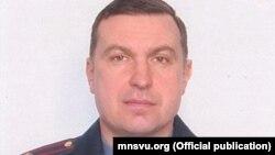 Намесьнік міністра ўнутраных спраў Мікалай Карпянкоў, архіўнае фота