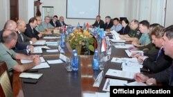 ՀԱՊԿ-ի շրջանակում երևանյան հավաքը, լուսանկարը՝ Հայաստանի պաշտպանության նախարարության